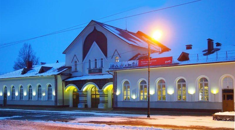 Муром, РЖД, вокзал, поезд, муромский вокзал