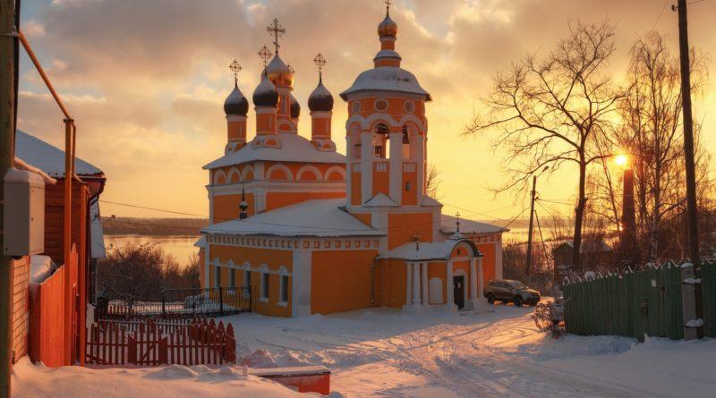 Муром, Николо-Набережная церковь , Муром,, церковь, муромская церковь, паломничество, св. Иулиании Лазаревской.