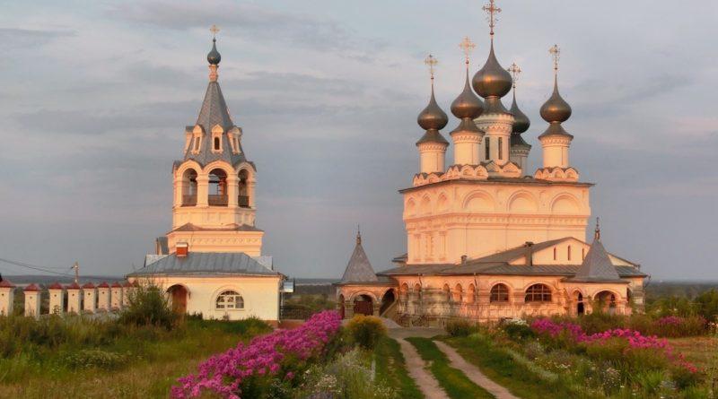 Воскресенский монастырь , монастырь, Муром, муромский монастырь, муромские святые, женский монастырь, святая земля