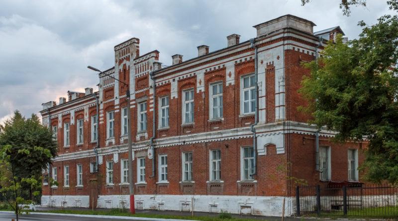 школа, школа Мурома, школа №16, реальное училище, военный госпиталь, 1880 год, Александр II, Зворыкин